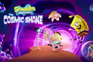 זרתות אל-על!: SpongeBob SquarePants: The Cosmic Shake הוכרז