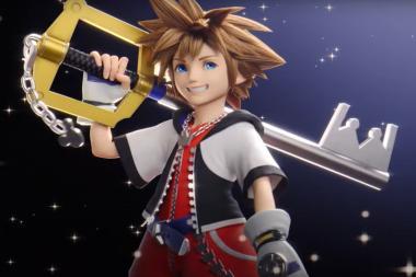 סורה מ-Kingdom Hearts הוא הלוחם שמצטרף ל-Super Smash Bros. Ultimate