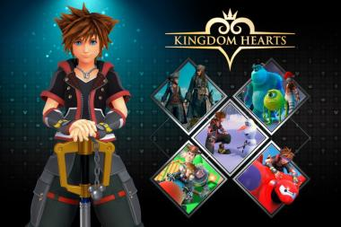 סדרת משחקי Kingdom Hearts מגיעה ל-Nintendo Switch