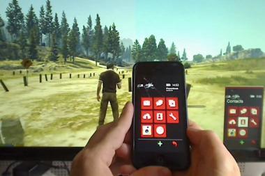 גיימר הצליח לשלוט בטלפון של GTA V עם אייפון
