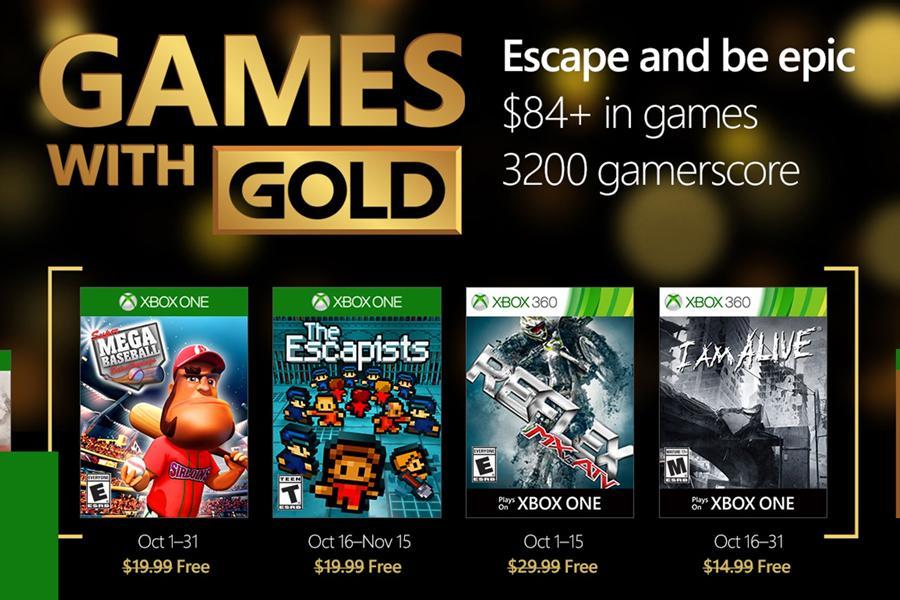 אדיר Xbox Live Gold - המשחקים של חודש אוקטובר   חדשות משחקים   ויגיימס BJ-34
