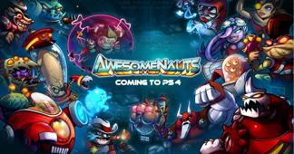 Awesomenauts מגיע ל-PS4