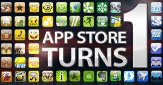 מזל טוב: שנה להשקת ה-App Store
