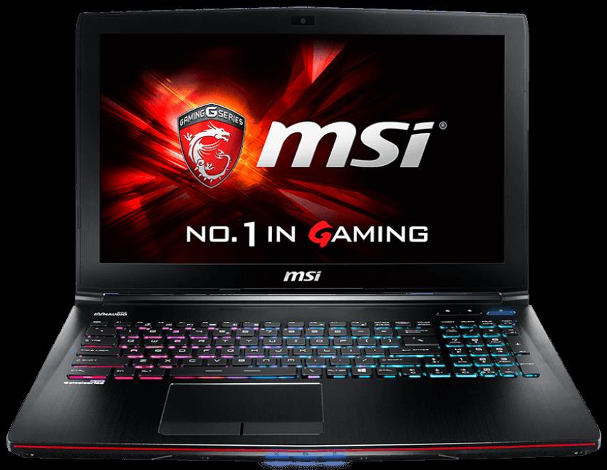 MSI GE62 - MS114