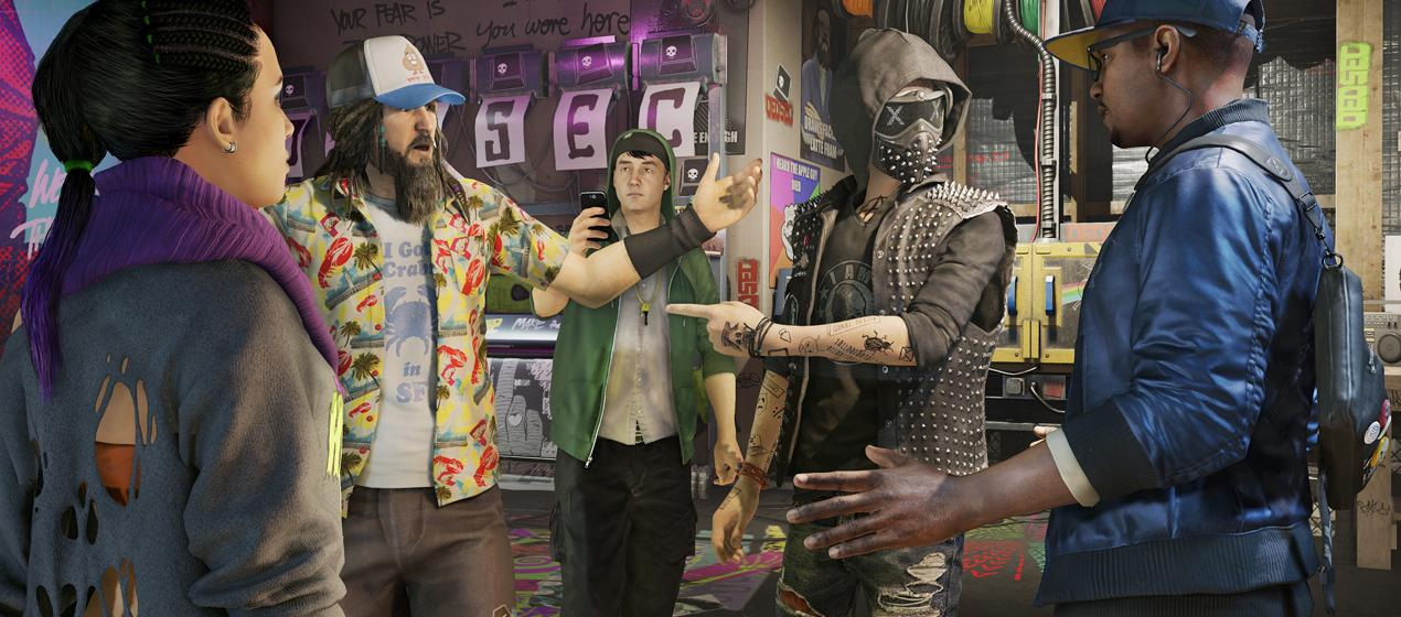 ��� ������� ���� �� Watch Dogs 2