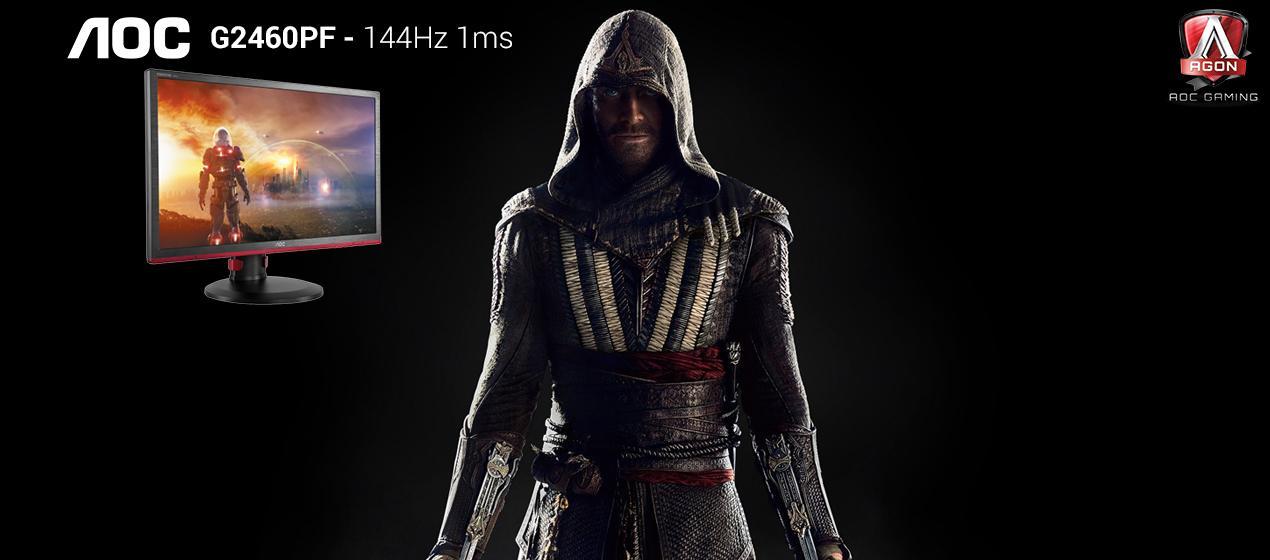 זכו במסך גימיינג לכבוד יציאת הסרט Assassin's Creed