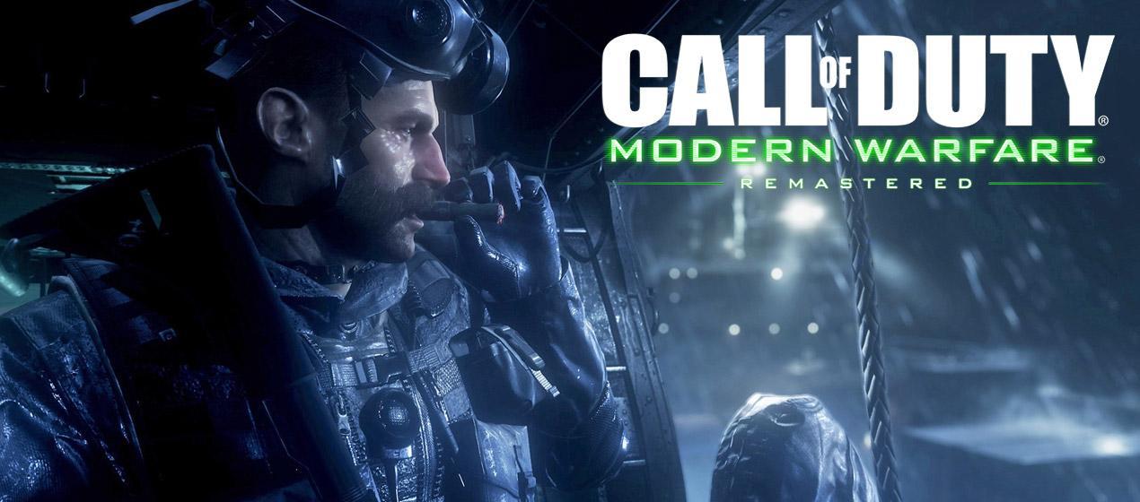 Call of Duty: MW Remastered מגיע למדפים
