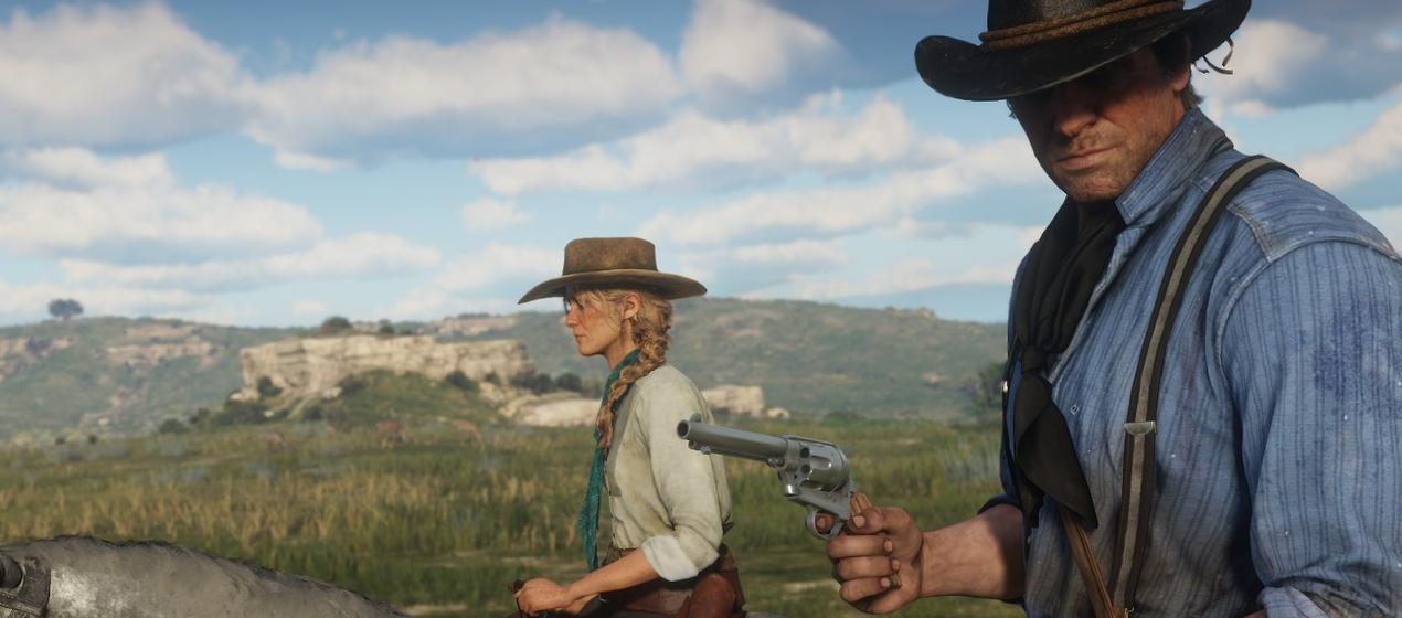 טריילר המשחקיות של Red Dead Redemption כאן