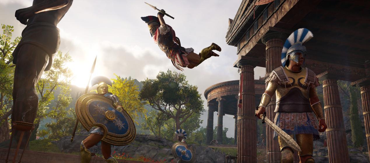 רשמים ראשונים מ-Assassin's Creed Odyssey