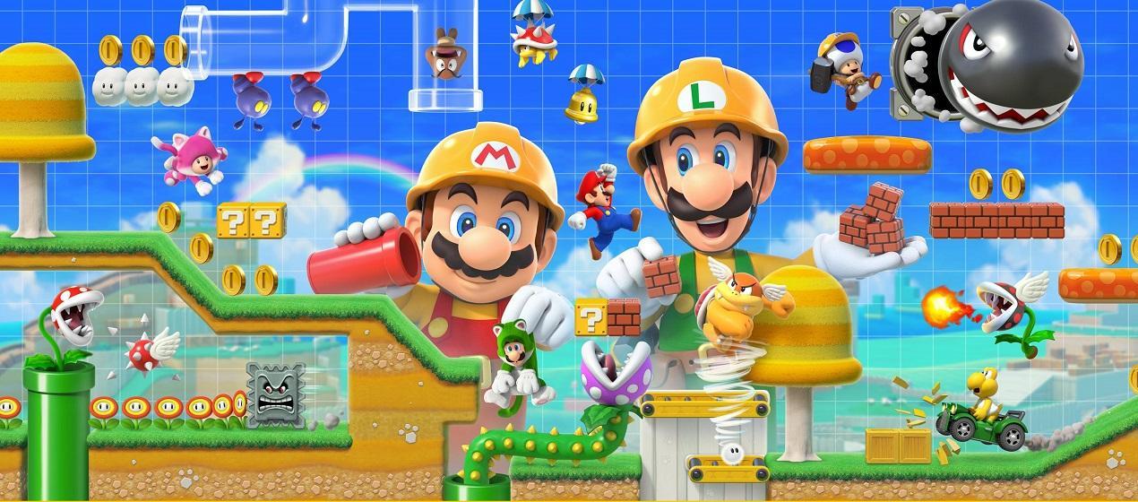 ביקורת: Super Mario Maker 2 - עשה זאת בעצמך 2