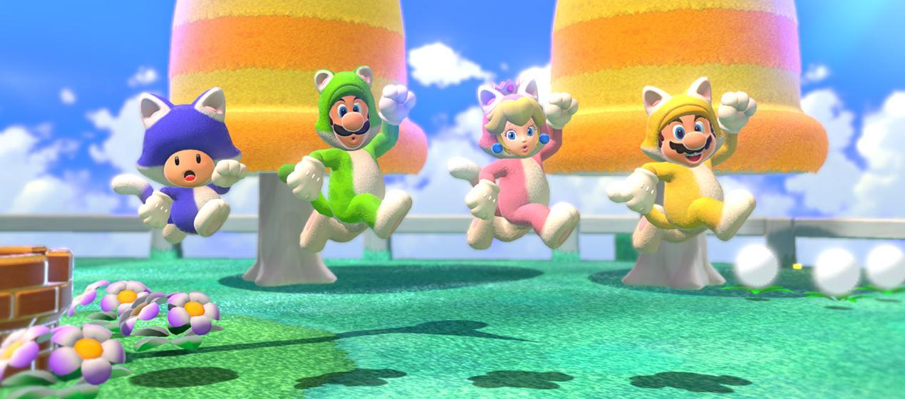 ביקורת: Super Mario 3D World + Bowser's Fury